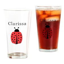 Clarissa - Ladybug Pint Glass