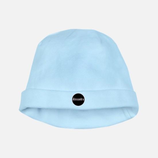 Alexandra - Pink Circle baby hat