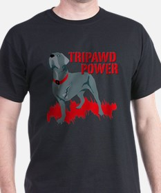 Tripawd Power (Bellona) T-Shirt