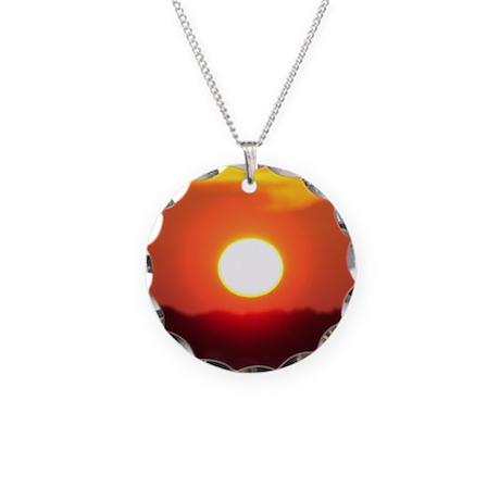 franklinsworld.com Necklace Circle Charm