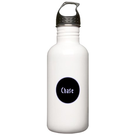 Chase - Blue Name Circle Stainless Water Bottle 1.