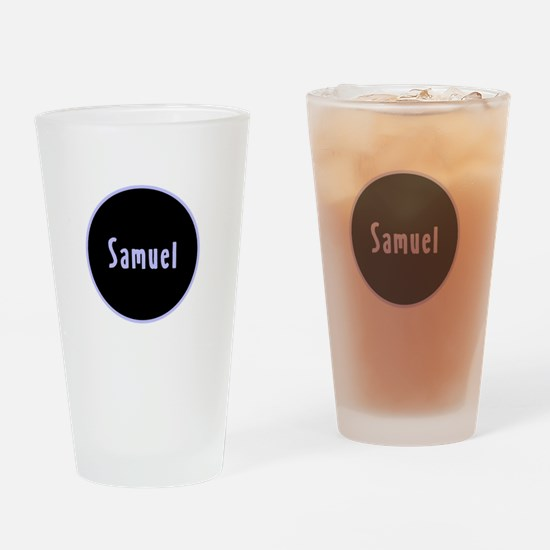 Samuel - Blue Name Circle Pint Glass