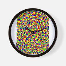 TRIANGULATION Wall Clock