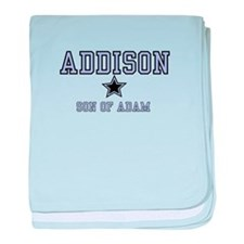Addison - Name Team baby blanket
