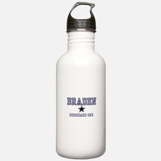 Braden - Name Team Water Bottle