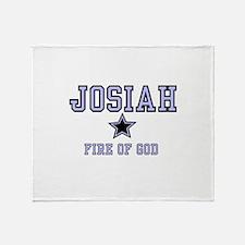 Name Team - Josiah Throw Blanket