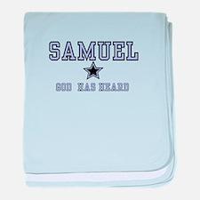 Samuel - Name Team Boy baby blanket