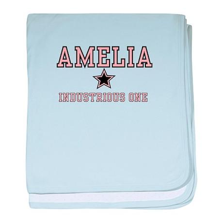 Amelia - Name Team baby blanket