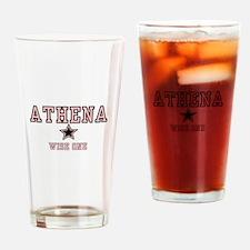Athena - Name Team Pint Glass