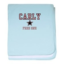 Carly - Name Team baby blanket