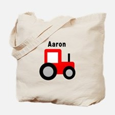 Aaron - Red Tractor Tote Bag