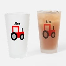 Alex - Red Tractor Pint Glass