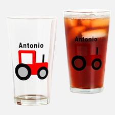 Antonio - Red Tractor Pint Glass