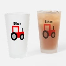 Ethan - Red Tractor Pint Glass