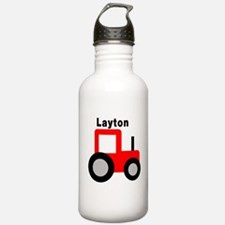 Layton - Red Tractor Water Bottle
