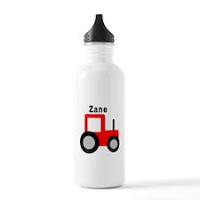 Zane - Red Tractor Sports Water Bottle