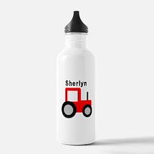 Sherlyn - Red Tractor Water Bottle