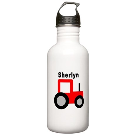 sherlyn name. sherlyn - red tractor water bottle name