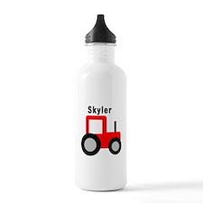 Skyler - Red Tractor Water Bottle