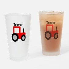 Trever - Red Tractor Pint Glass