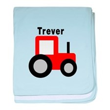 Trever - Red Tractor baby blanket