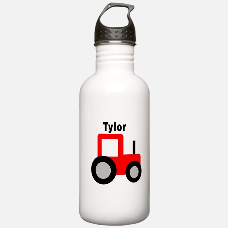 Tylor - Red Tractor Water Bottle