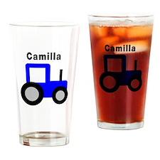 Camilla - Blue Tractors Pint Glass