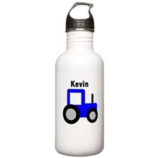 Kevin - Blue Tractor Personal Water Bottle