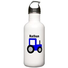 Nathan - Blue Tractor Persona Water Bottle