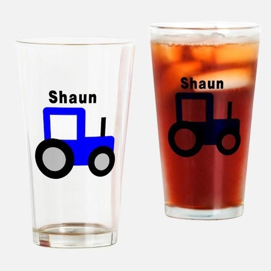 Shaun - Blue Tractor Pint Glass
