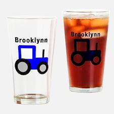 Brooklynn - Blue Tractor Pint Glass