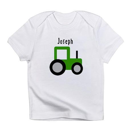 Joseph - Green Tractor Infant T-Shirt