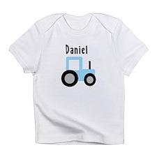 Daniel - Baby Blue Tractor Infant T-Shirt