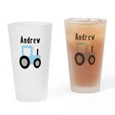 Andrew - Baby Blue Tractor Pint Glass