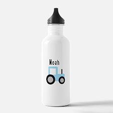 Noah - Baby Blue Tractor Water Bottle