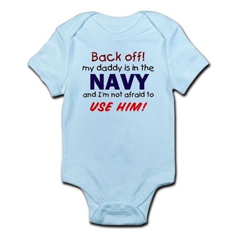 Navy Daddy Infant Bodysuit