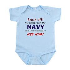Navy Daddy Infant Bodysuit