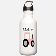 Madison - Pink Tractor Water Bottle