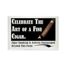 Cigar Rectangle Magnet (10 pack)