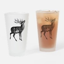 Red Deer Stag Pint Glass