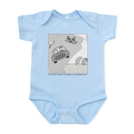In Kansas Now Infant Bodysuit
