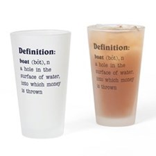 Boat Definition Pint Glass