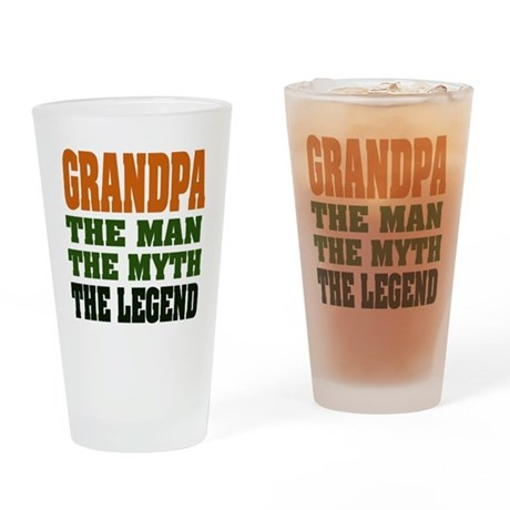 Grandpa - The Legend Pint Glass