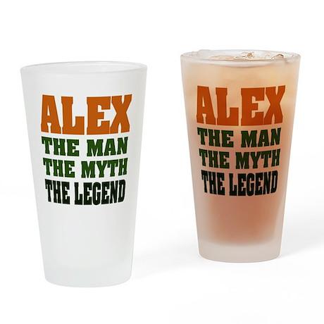 ALEX - The Legend Pint Glass