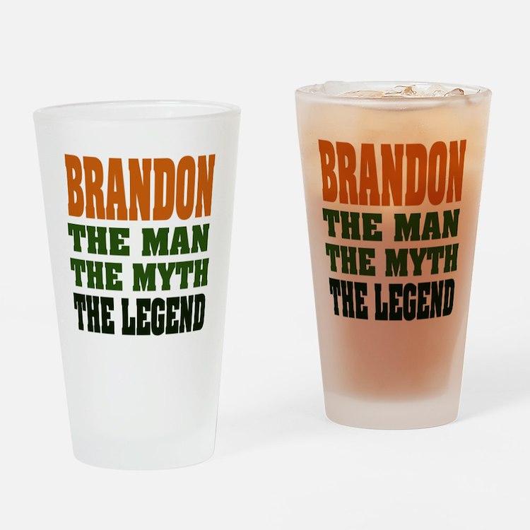 BRANDON - the legend Pint Glass