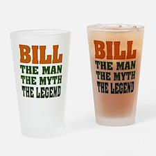 BILL - The Legend Pint Glass