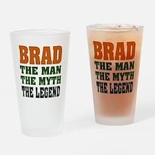 BRAD - the legend Pint Glass