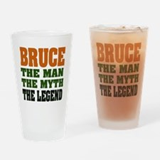 BRUCE - The Legend Pint Glass