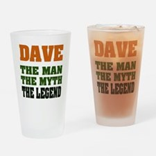 DAVE - The Legend Pint Glass