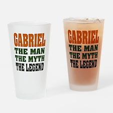 GABRIEL - the legend! Pint Glass